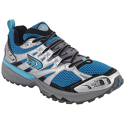 On Sale. Free Shipping. The North Face Women's Single-Track Shoe DECENT FEATURES of The North Face Women's Single-Track Shoe Upper: Abrasion-resistant, sandwich mesh External tongue scree collar Abrasion-resistant, synthetic support overlays C-Delta metatarsal fit system OrthoLite Northotic foot-bed Bottom: Unleashed Performance (neutral) engineered platform Semi-curve lasted; 22 mm/10 mm heel/forefoot heights X-Dome Cradle provides high-impact heel cushioning and rebound Dual-density EVA X-Dome Cradle heel cushioning and support system ESS Snake Plate forefoot protection Tenacious Grip high-abrasion, off-road sticky rubber The SPECS Approx Weigh: 1/2 Pair: 9.5 oz / 268 g, Pair: 1 lb 3 oz / 536 g Last: L\TNF-013 This product can only be shipped within the United States. Please don't hate us. - $58.99