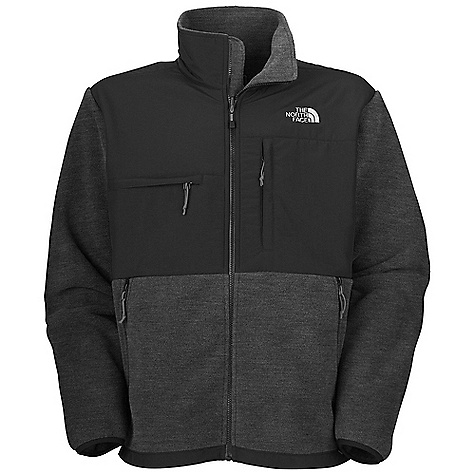 On Sale. Free Shipping. The North Face Men's Denali Jacket DECENT FEATURES of The North Face Men's Denali Jacket Media pocket Zip-in-compatible integration with complementing garments from The North Face Abrasionreinforced shoulders and elbows Napoleon chest pocket Horizontal chest pocket Two secure-zip hand pockets Elastic-bound cuffs Pit-zip vents Hem cinch-cord The SPECS Average Weight: 26.66 oz / 756 g Center Back Length: 28in. Body: Recycled Polartec 300 Series fleece with DWR Abrasion: Laundered two-ply nylon This product can only be shipped within the United States. Please don't hate us. - $133.99