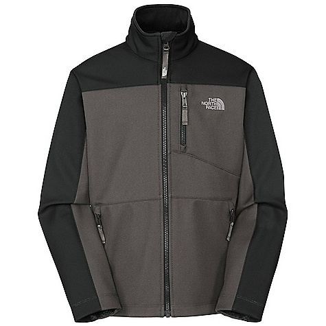 On Sale. Free Shipping. The North Face Boys' Apex Bionic Jacket DECENT FEATURES of The North Face Boys' Apex Bionic Jacket TNF Apex Universal 100% windproof fabric Brushed collar lining Zip Napoleon pocket Zip hand pockets Stormflap ID label Embroidered logo at left chest and back right shoulder The SPECS Average Weight: 11.2 oz / 317 g Center Back Length: 22in. 100% polyester mechanical stretch TNF Apex Universal with DWR and fleece backer This product can only be shipped within the United States. Please don't hate us. - $68.99