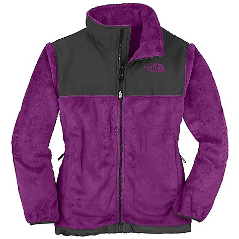 On Sale. Free Shipping. The North Face Girls' Denali Thermal Jacket DECENT FEATURES of The North Face Girls' Denali Thermal Jacket Zip-in and snap-in compatible Abrasion-reinforced shoulders, chest and elbows Zip hand pockets Elastic binding at cuffs Encased elastic at hem ID label Embroidered logo at left chest and back right shoulder The SPECS Average Weight: 18.2 oz / 516 g Center Back Length: 22.5in. Body: 315 g/m2 100% polyester Silken high loft fleece Abrasion: 70D x 160D 118 g/m2 100% nylon Taslan with DWR finish This product can only be shipped within the United States. Please don't hate us. - $48.99