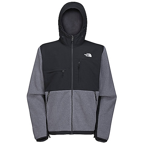 On Sale. Free Shipping. The North Face Men's Denali Hoodie DECENT FEATURES of The North Face Men's Denali Hoodie Zip-in-compatible integration with complementing garments from The North Face Abrasion-reinforced shoulders and elbows Napoleon chest pocket Horizontal chest pocket Two secure-zip hand pockets Elastic-bound cuffs Pit-zip vents Hem cinch-cord Fixed hood Internal media access The SPECS Average Weight: 29.7 oz / 842 g Center Back Length: 28in. Body: Recycled Polartec 300 Series fleece with DWR Abrasion: Laundered two-ply nylon This product can only be shipped within the United States. Please don't hate us. - $114.99