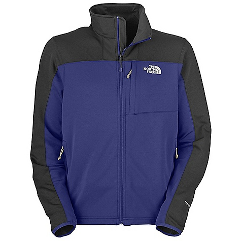 Free Shipping. The North Face Men's Momentum Jacket DECENT FEATURES of The North Face Men's Momentum Jacket Performance fit Two secure-zip hand pockets Elastic-bound cuffs Single-hand hem cinch-cord The SPECS Average Weight: 17.99 oz / 510 g Center Back Length: 27.5in. 265 g/m2 one-side brushed-93% polyester 7% elastane TKA Superstretch This product can only be shipped within the United States. Please don't hate us. - $98.95