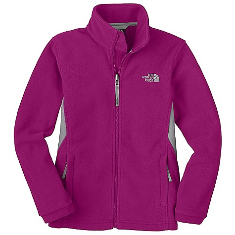 On Sale. Free Shipping. The North Face Girls' Khumbu Jacket DECENT FEATURES of The North Face Girls' Khumbu Jacket Zip-in and snap-in compatible Zip hand warmer pockets Relaxed fit Internal center front draft flap Stormflap ID label Embroidered logo at left chest Imported The SPECS Average Weight: 14.3 oz / 390 g Center Back Length: 22.75in. 300 g/m2 100% polyester TKA 300 fleece This product can only be shipped within the United States. Please don't hate us. - $38.99