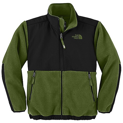On Sale. Free Shipping. The North Face Boys' Denali Jacket DECENT FEATURES of The North Face Boys' Denali Jacket Zip-in and snap-in compatible Abrasion-reinforced shoulders, chest and elbows Zip hand pockets Elastic binding at cuffs Encased elastic at hem ID label Embroidered logo at left chest and back right shoulder The SPECS Average Weight: 16 oz / 453 g Center Back Length: 22.5in. Body: 330 g/m2 Recycled Polartec 300 Series polyester fleece with DWR finish Abrasion: 118 g/m2 160D 100% nylon Taslan with DWR finish This product can only be shipped within the United States. Please don't hate us. - $69.99