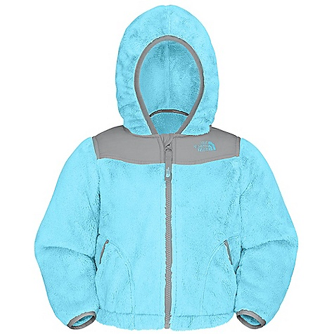On Sale. Free Shipping. The North Face Toddler Girls' Oso Hoodie DECENT FEATURES of The North Face Toddler Girls' Oso Hoodie Super soft and cozy high-pile fleece body Fixed hood Zip garage Elastic binding at cuffs, hand pockets and hood Encased elastic at hem Embroidered logo at left chest and back right shoulder The SPECS Average Weight: 6.9 oz / 196 g Center Back Length: 14.75in. Body: 315 g/m2 100% polyester high-pile fleece Body and Hood Overlay: 30D 50 g/m2 100% polyester taffeta with DWR This product can only be shipped within the United States. Please don't hate us. - $55.99