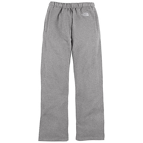 The Men's Logo Pant by The North Face. For cool weather softball games, or brisk hikes around the lake, step into this cotton/fleece pant and you'll stay warm and comfortable. With split vents at each leg opening, these pants won't bunch or bulge with boots or cleats on, enabling unrestricted movement so you can dive for routine grounders. Features of The North Face Men's Logo Pant Soft, comfortable, easy-cAre fabric Water-repellent cotton-blend fleece Elastic waistband with internal drawcord Welt hand pockets Welt back pocket Split vents at leg opening Logo embroidered at left hip - $44.95