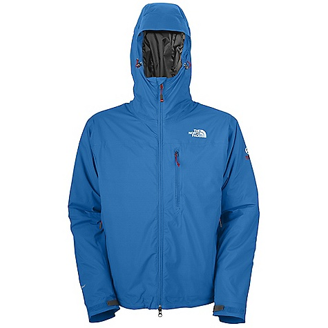 Climbing On Sale. Free Shipping. The North Face Men's Makalu Insulated Jacket DECENT FEATURES of The North Face Men's Makalu Insulated Jacket Mountaineering, remote expedition and alpine climbing Waterproof, seam-taped nylon HyVent Alpha shell PrimaLoft One insulation is warm even when wet Sleek, fixed, fully adjustable, helmet-compatible hood Polyurethane (PU) chest pocket Dual zippered hand pockets Interior, pocket-accessed bottom cinch The SPECS Average Weight: 26.63 oz / 755 g Fit: Active Body: 40D 99 g/m2 (2.87 oz/yd2) HyVent Alpha 2L shell-100% nylon Insulation: 133 g PrimaLoft One This product can only be shipped within the United States. Please don't hate us. - $164.99