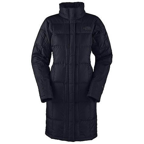 On Sale. Free Shipping. The North Face Women's Metropolis Parka DECENT FEATURES of The North Face Women's Metropolis Parka Quilted body Insulated Adjustable, removable snap-off hood Brushed chin guard lining Two-way center front zip with snap-down closure Zippered hand warmer pockets Adjustable drawcord system at hood Internal security pocket Zipper and snap center-front, two-way zipper Key clip in hand pocket Embroidered logo at left chest and back right shoulder Imported The SPECS Average Weight: 22.5 oz / 637 g Center Back Length: 38in. Body: 30D 57 g/m2 100% nylon taffeta with DWR plain-weave nylon Light colors: 50D 71 g/m2 (2.1 oz/yd2) plain-weave polyester with DWR Insulation: 600 fill down This product can only be shipped within the United States. Please don't hate us. - $191.99