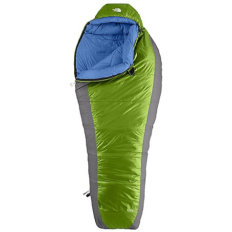 Camp and Hike Free Shipping. The North Face Snow Leopard 0 Degree Sleeping Bag DECENT FEATURES of The North Face Snow Leopard 0 Degree Sleeping Bag Climashield Prism shingled construction with Climashield Apex layered against the body Buttery soft fabrics Inspired fit and function Lightweight compression stuffsack Glow-in-the-dark pull-loop on zipper Internal draft tube pockets keep essentials warm and within reach The SPECS Temperature Rating: 0deg F / -18deg C Comfort: 25deg F / -4deg C Limit: 12deg F / -11deg C Extreme: -22deg F / -30deg C Stuffsack Size: 7 x 23in. / 18.5 x 58 cm Fill: Climashield Prism Climashield Apex Shape: Mummy The SPECS for Regular Total Weight: 4 lbs 2 oz / 1856 g Fill Weight: 3 lbs 3 oz / 1456 g Compressed Size: 1024 cubic inches / 16.8 liter The SPECS for Long Total Weight: 4 lbs 6 oz / 1987 g Fill Weight: 3 lbs 8 oz / 1575 g Compressed Size: 1136 cubic inches / 18.6 liter This product can only be shipped within the United States. Please don't hate us. - $218.95