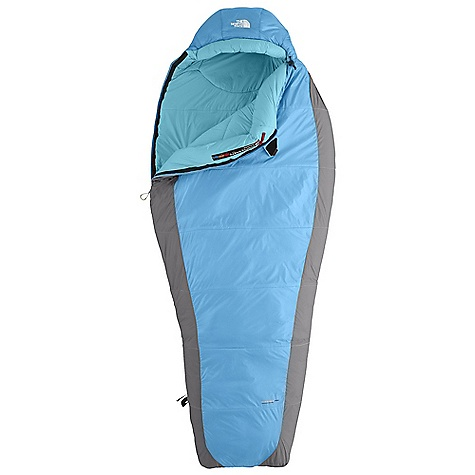 Camp and Hike Free Shipping. The North Face Women's Cat's Meow 20 Degree Sleeping Bag DECENT FEATURES of The North Face Women's Cat's Meow 20 Degree Sleeping Bag Climashield Prism shingled construction with Climashield Apex layered against the body Buttery soft fabrics Inspired fit and function Lightweight compression stuffsack Glow-in-the-dark pull-loop on zipper Internal draft tube pockets keep essentials warm and within reach The SPECS Temperature Rating: 20deg F / -7deg C Comfort: 34deg F / 1deg C Limit: 23deg F / -5deg C Extreme: -8deg F / -22deg C Stuffsack Size: 6.5 x 21in. / 16.5 x 53 cm Fill: Climashield Prism Climashield Apex Shape: Mummy The SPECS for Regular Total Weight: 2 lbs 8 oz / 1126 g Fill Weight: 1 lb 11 oz / 776 g Compressed Size: 882 cubic inches / 14.5 liter The SPECS for Long Total Weight: 2 lbs 11 oz / 1206 g Fill Weight: 1 lb 14 oz / 838 g Compressed Size: 1024 cubic inches / 16.8 liter This product can only be shipped within the United States. Please don't hate us. - $188.95