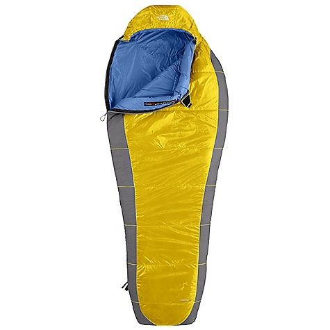 Camp and Hike Free Shipping. The North Face Lynx 40 Degree Sleeping Bag DECENT FEATURES of The North Face Lynx 40 Degree Sleeping Bag Climashield Prism shingled construction with Climashield Apex layered against The body Tested to EN 13537 Buttery soft fabrics Inspired fit and function Lightweight compression stuffsack Glow-in-The-dark pull-loop on zipper Get a bag 15-20 degrees cooler than what you are using it for if you are a cold sleeper Internal draft tube pockets keep essentials warm and with in reach Imported The SPECS Temperature Rating: 40deg F / 4deg C Comfort: 46deg F / 8deg C Limit: 37deg / 3deg C Extreme: 12deg F / -11deg C Fill: Climashield Prism Climashield Apex Shape: Mummy Stuffed Size: 6 x 17in. / 14.5 x 43 cm The SPECS for Regular Total Weight: 1 lb 12 oz / 799 g Fill Weight: 1 lb / 445 g Compressed Size: 385 cubic inches / 6.3 liter The SPECS for Long Total Weight: 1 lb 14 oz / 856 g Fill Weight: 1 lb 1 oz / 483 g Compressed Size: 416 cubic inches / 6.8 liter This product can only be shipped within the United States. Please don't hate us. - $168.95