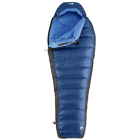 Camp and Hike Free Shipping. The North Face Blue Kazoo 15 Degree Sleeping Bag DECENT FEATURES of The North Face Blue Kazoo 15 Degree Sleeping Bag 650+ fill goose down Buttery soft fabrics Inspired fit and function Lightweight compression stuffsack Glow-in-the-dark pull-loop on zipper Internal draft tube pockets keep essentials warm and within reach The SPECS Temperature Rating: 15deg F / -9deg C Comfort: 28deg F / -2deg C Limit: 16deg F / -9deg C Extreme: -17deg F / -27deg C Stuffsack Size: 6.5 x 21in. / 16.5 x 53 cm Fill: 650+ Down Shape: Mummy The SPECS for Regular Total Weight: 2 lbs 8 oz / 1140 g Fill Weight: 1 lb 6 oz / 610 g Compressed Size: 537 cubic inches / 8.8 liter The SPECS for Long Total Weight: 2 lbs 11 oz / 1228 g Fill Weight: 1 lb 8 oz / 673 g Compressed Size: 568 cubic inches / 9.3 liter The SPECS for Extra Long Total Weight: 2 lbs 14 oz / 1316 g Fill Weight: 1 lb 10 oz / 726 g Compressed Size: 588 cubic inches / 9.6 liter This product can only be shipped within the United States. Please don't hate us. - $278.95