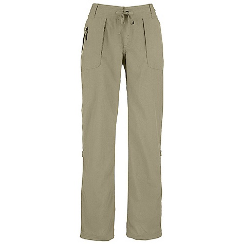 On Sale. Free Shipping. The North Face Women's Horizon Tempest Pant DECENT FEATURES of The North Face Women's Horizon Tempest Pant Durable, lightweight, abrasion-resistant nylon Internal drawcord with button-fly closure Two hand pockets Two patch rear pockets Crotch gusset Secure-zip pocket on right pocket Stowpocket feature Leg roll-up feature Relaxed fit The SPECS Average Weight: 10 oz / 280 g Inseam: short: 30in., regular: 32in., long: 34in. 70D 113 g/m2 (3.98 oz/yd2) 100% nylon woven ripstop (bluesign approved fabric) This product can only be shipped within the United States. Please don't hate us. - $32.99