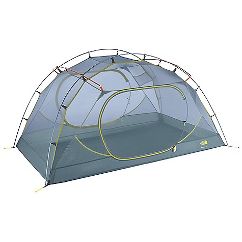 Camp and Hike On Sale. Free Shipping. The North Face Minibus 2 Tent DECENT FEATURES of The North Face Minibus 2 Tent Vertical side walls provide dry entrances and gobs of livable space Light and simple clip pitch Two large doors and two vestibules Multiple vents and PU port on rainfly Fully taped, nylon bucket floor DAC stakes Imported The SPECS Capacity: 2 Person Total Weight: 5 lbs 12 oz / 2.62 kg Trail Weight: 5 lbs 6 oz / 2.44 kg Fastpack Weight: 3 lbs 15 oz / 1.78 kg Vestibules: 2 Peak Height: 41in. Number of Poles: 4 Pole Diameter: 9 mm Doors: 2 Stuffsack Size: 24 x 7in. / 61 x 17 cm Trail Weight: 5 lbs 6 oz / 2.38 kg Floor Area: 33.3 square feet / 3 square meter Vestibule Area: Front: 10 square feet / 1 square meter, Rear: 10 square feet / 1 square meter Fly: 40D 238T nylon ripstop, 2 oz/yd2 70 g/m2), 1500 mm PU coating/silicone water-resistant finish Canopy: 40D 210T nylon ripstop, 1.2 oz/yd2 81 g/m2), water-resistant finish Mesh: 20D polyester in.no-see-umin. mesh Floor: 70D 210T nylon taffeta, 2.7 oz/yd2 94 g/m2), 10000 mm PU coating, water-resistant finish This product can only be shipped within the United States. Please don't hate us. - $268.99