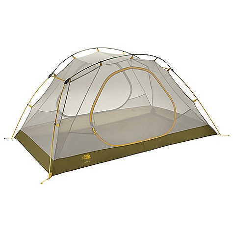 Camp and Hike On Sale. Free Shipping. The North Face Topaz 2 Tent DECENT FEATURES of The North Face Topaz 2 Tent DAC Press-Fit poles with three-way hub Double-door and double-awning vestibule Light and simple clip pitch Comprehensive color coding Fully taped nylon floor Abundant gear loops Durable steel stakes Imported The SPECS Capacity: 2 Person Total Weight: 6 lbs 2 oz / 2.78 kg Fastpack Weight: 4 lbs 2 oz / 1.87 kg Vestivules: 2 Peak Height: 43in. Number of Poles: 4 Pole Diameter: 9 mm, 11 mm Doors: 2 Stuffsack Size: 24 x 7in. / 61 x 17 cm Floor Area: 31 square feet / 2.9 square meter Trail Weight: 5 lbs 7 oz / 2.48 kg Vestibule Area: Front: 10 square feet / 0.9 square meter, Rear: 10 square feet / 0.9 square meter Fly: 75D 190T polyester taffeta, 2.3 oz/yd2 80 g/m2), 1500 mm PU coating, water-resistant finish Canopy: 40D nylon in.no-see-umin. mesh Floor: 70D 190T nylon taffeta, 2.4 oz/yd2 83 g/m2), 5000 mm PU coating, water-resistant finish This product can only be shipped within the United States. Please don't hate us. - $185.99