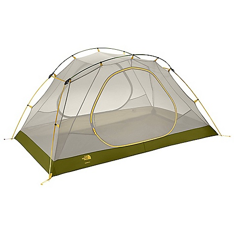 Camp and Hike On Sale. Free Shipping. The North Face Topaz 3 Tent DECENT FEATURES of The North Face Topaz 3 Tent DAC Press-Fit poles with three-way hub Double-door and double-awning vestibule Light and simple clip pitch Comprehensive color coding Fully taped nylon floor Abundant gear loops Durable steel stakes Imported The SPECS Capacity: 3 Person Total Weight: 7 lbs 2 oz / 3.24 kg Fastpack Weight: 4 lbs 13 oz / 2.19 kg Vestivules: 2 Peak Height: 46in. Number of Poles: 4 Pole Diameter: 9 mm, 11 mm Doors: 2 Stuffsack Size: 24 x 8in. / 61 x 20 cm Trail Weight: 6 lbs 8 oz / 2.94 kg Floor Area: 42 square feet / 4 square meter Vestibule Area: Front: 11.5 square feet / 1 square meter, Rear: 11.5 square feet / 1 square meter Fly: 75D 190T polyester taffeta, 2.3 oz/yd2 80 g/m2), 1500 mm PU coating, water-resistant finish Canopy: 40D nylon in.no-see-umin. mesh Floor: 70D 190T nylon taffeta, 2.4 oz/yd2 83 g/m2), 5000 mm PU coating, water-resistant finish OVERSIZE ITEM: We cannot ship this product by any expedited shipping method (3-Day, 2-Day or Next Day). Even if you pick that option, it will still go Ground Shipping. Sorry for being so mean. This product can only be shipped within the United States. Please don't hate us. - $208.99