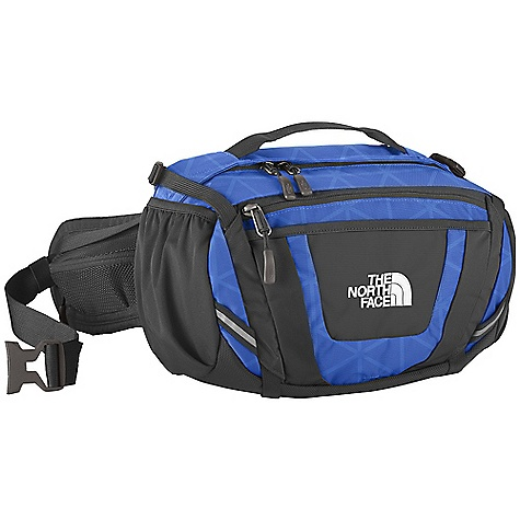 Entertainment Free Shipping. The North Face Sport Hiker Lumbar Pack DECENT FEATURES of The North Face Sport Hiker Lumbar Pack Comfortable, padded air-mesh back panel Stowable, padded hipbelt with zippered mesh pockets and compression Padded, adjustable, removable shoulder strap Large main compartment with zippered mesh pocket and slip-in pockets Secondary compartment with padded tricot-lined pocket and organization Stretch front storage pocket Stretch woven side water bottle pockets The SPECS Average Weight: 1 lb 8 oz / 680 g Volume: 550 cubic inches / 9 liter Dimension: 8 x 13.5 x 7.5in. / 20.5 x 34 x 19.5 cm 420D nylon This product can only be shipped within the United States. Please don't hate us. - $84.95