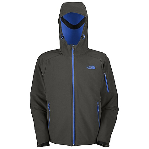 Free Shipping. The North Face Men's Apex Android Hoodie DECENT FEATURES of The North Face Men's Apex Android Hoodie TNF Apex ClimateBlock fabric wind permeability rated at 100% windproof fabric Fleece backer Attached adjustable hood Secure zip bicep pocket Two secure-zip hand pockets Non-abrasive molded, adjustable cuff tabs Hem cinch-cord The SPECS Average Weight: 26.1 oz / 740 g Center Back Length: 28in. 90D 351 g/m2 (10.3 oz/yd2) plain weave polyester TNF Apex ClimateBlock with fleece backer This product can only be shipped within the United States. Please don't hate us. - $169.95