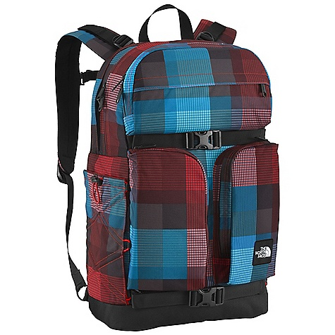 Camp and Hike On Sale. Free Shipping. The North Face Mondaze Backpack DECENT FEATURES of The North Face Mondaze Backpack FlexVent injection-molded shoulder straps Comfortable, padded air-mesh back panel with zippered stash pocket Zippered, dedicated laptop compartment Large main compartment Front, durable, water-resistant zippered pocket with padded phone pocket, electronics pocket and exterior tricot-lined stash pocket Two vertical front stash pockets Bungee side water bottle pockets Removable sternum strap Compatible with most 15in. laptops Imported The SPECS Average Weight: 2 lbs 8 oz / 1135 g Volume: 1830 cubic inches / 30 liter 630D ballistics nylon, 1200D polyester, 600D polyester print This product can only be shipped within the United States. Please don't hate us. - $53.99