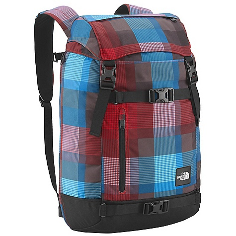 Camp and Hike On Sale. Free Shipping. The North Face Pre-hab Backpack DECENT FEATURES of The North Face Pre-hab Backpack FlexVent injection-molded shoulder straps Comfortable, padded air-mesh back panel Zippered, dedicated laptop compartment with side and top access Large main compartment with cinch closure Zippered tricot-lined stash pocket on top lid Front zippered and open stash pockets Removable sternum strap Compatible with most 15in. laptops Imported The SPECS Average Weight: 2 lbs 5 oz / 1050 g Volume: 1710 cubic inches / 28 liter 630D ballistics nylon, 600D polyester print, 1200D polyester This product can only be shipped within the United States. Please don't hate us. - $54.99