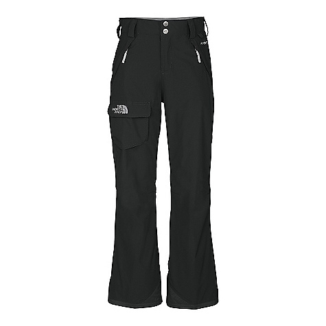 On Sale. Free Shipping. The North Face Girls' Freedom Insulated Pant DECENT FEATURES of The North Face Girls' Freedom Insulated Pant Waterproof, breathable, fully seam sealed Cargo pocket with Velcro flap closure Zip hand pockets Articulated knees Lift-ticket loop at waist Key clip Zip-fly Half-elastic waistband with adjustable Velcro tabs and snap front closure Belt loops Gaiter with gripper elastic Reinforced kickpatch at hem Boot clip at front of leg EZ Grow cuffs at leg opening Embroidered logo at cargo pocket The SPECS Average Weight: 17.3 oz / 490 g Inseam: 23in., 25in. grown Body: 70D x 160D 128 g/m2 100% nylon faille weave HyVent 2L Lining: 40D 70 g/m2 100% nylon taffeta Insulation: 60 g Heatseeker Aero This product can only be shipped within the United States. Please don't hate us. - $59.99