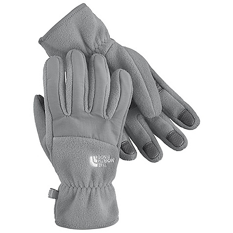 On Sale. The North Face Women's Denali Glove DECENT FEATURES of The North Face Women's Denali Glove Women-specific 5 Dimensional Fit Radiametric Articulation Nylon Taslan over knuckles and fingers Elastic wrists seal out the cold Versatile for multipurpose sport activities Imported The SPECS Shell: 300 weight fleece with nylon Taslan overlay Palm: PU gripper This product can only be shipped within the United States. Please don't hate us. - $20.99