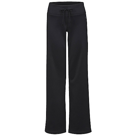 Free Shipping. The North Face Women's Fave-Our-Ite Pant DECENT FEATURES of The North Face Women's Fave-Our-Ite Pant Relaxed fit Exposed draw cord at waistband Card pocket The SPECS Inseam: 32.25in. 210 g/m2 (6.2 oz/yd2) 100% polyester jersey-faced fleece This product can only be shipped within the United States. Please don't hate us. - $49.95