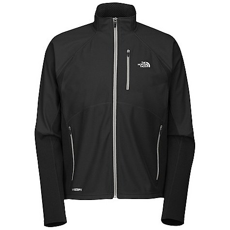 On Sale. Free Shipping. The North Face Men's Windstopper Hybrid Full Zip Jacket DECENT FEATURES of The North Face Men's Windstopper Hybrid Full Zip Jacket Layered venting system Stretch paneling Security hand pockets Reflective piping and logos The SPECS Average Weight: 15.5 oz Center Back Length: 27.5in. Body: 201 g/m2 Gore Windstopper-100% polyester membrane with DWR Panel: 265 g/m2 93% polyester, 7% elastane This product can only be shipped within the United States. Please don't hate us. - $110.99