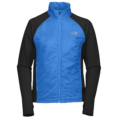 On Sale. Free Shipping. The North Face Men's Animagi Jacket DECENT FEATURES of The North Face Men's Animagi Jacket Front insulated quilted panels Thumb loops MP3 compatible Secure hand pocket Reflective logo The SPECS Center Back Length: 27.5in. Body: 42 g/m2 100% nylon ripstop woven Panel: 267 g/m2 91% polyester, 9% elastane french terry knit This product can only be shipped within the United States. Please don't hate us. - $86.99