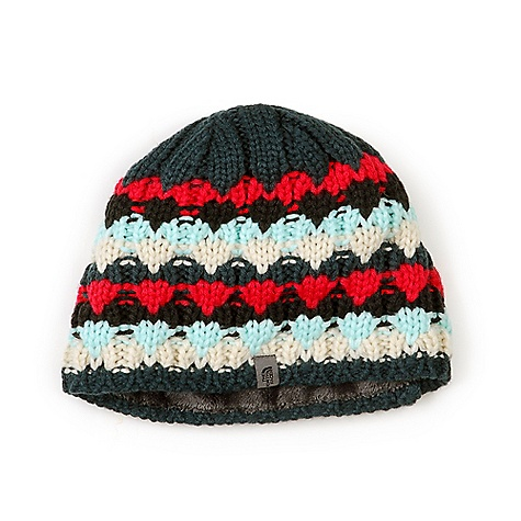 Entertainment On Sale. The North Face Women's Lizzy Bizzy Beanie DECENT FEATURES of The North Face Women's Lizzy Bizzy Beanie Hand-knit styling High loft liners The SPECS Average Weight: 4.1 oz / 116.03 g Shell A: 100% acrylic Shell B: 95% polyester, 5% elastane This product can only be shipped within the United States. Please don't hate us. - $23.99