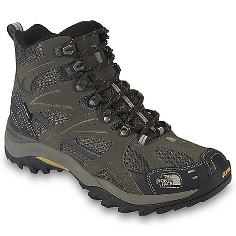Camp and Hike Free Shipping. The North Face Men's Hedgehog Tall GTX XCR III Boot DECENT FEATURES of The North Face Men's Hedgehog Tall GTX XCR III Boot Upper: Gore-Tex Extended Comfort Range waterproof, breathable membrane PU-coated leather upper with breathable mesh panels Northotic Pro upgraded EVA foot bed with PORON resource heel and forefoot-cushioning pads and ESS Cradle technology Bottom: X-2 dual-density, compression-molded EVA midsole with Cradle technology Injection-molded TPU Snake Plate forefoot protection Exclusive lightweight Vibram rubber outsole Imported The SPECS Last: TNF-001 Approx Weight: 1/2 pair: 15.8 oz / 447 g, pair: 2 lbs / 896 g This product can only be shipped within the United States. Please don't hate us. - $139.95