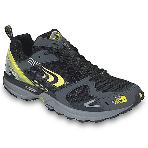 On Sale. Free Shipping. The North Face Men's Double-Track Shoe DECENT FEATURES of The North Face Men's Double-Track Shoe Upper: Breathable sandwich mesh External molded heel counter TPU-welded midfoot support Dual-density OrthoLite Northotic foot bed Bottom: Terrain Harness (stability) engineered platform 24 mm/12 mm heel/forefoot heights Cradle heel-cushioning and stability technology with medial post High-rebound, second-density forefoot EVA TPU Snake Plate forefoot protection Tenacious Grip sticky rubber outsole The SPECS Last: TNF-028 Approx Weight: 1/2 pair: 11.6 oz / 330 g, pair: 1 lb 7 oz / 660 g This product can only be shipped within the United States. Please don't hate us. - $83.99