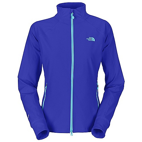 On Sale. Free Shipping. The North Face Women's Out The Door Jacket DECENT FEATURES of The North Face Women's Out The Door Jacket Contrast zip Princess seams Zip hand pockets Rib at collar, hem and wrists The SPECS Center Back Length: 24.5in. 280 g/m2 92% polyester 8% spandex This product can only be shipped within the United States. Please don't hate us. - $71.99