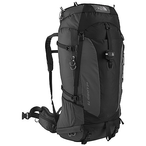 On Sale. Free Shipping. The North Face El Lobo 75 Pack DECENT FEATURES of The North Face El Lobo 75 Pack X Radial 2.0 frame is advanced, light and exceptionally strong Light and stout 210D nylon with water-resistant zippers Opti Fit adjustment system assures correct fit Molded-foam back panel, anatomical hipbelts and shoulder harness with moisture-wicking Dri-Lex fabric Anatomically engineered dual-pivot hipbelt correctly distributes load Large, removable hood converts to lumbar pack with integrated hipbelt Abundant pockets and organization make packing and unpacking easy Imported The SPECS 70D double ripstop 210HT ripstop The SPECS for Small Average Weight: 5 lbs / 2265 g Volume: 4270 cubic inches / 70 liter Extra Volume: 4880 cubic inches / 80 liter The SPECS for Medium Average Weight: 5 lbs 4 oz / 2399 g Volume: 4570 cubic inches / 75 liter Extra Volume: 5180 cubic inches / 85 liter The SPECS for Large Average Weight: 5 lbs 7 oz / 2465 g Volume: 4880 cubic inches / 80 liter Extra Volume: 5500 cubic inches / 90 liter OVERSIZE ITEM: We cannot ship this product by any expedited shipping method (3-Day, 2-Day or Next Day). Even if you pick that option, it will still go Ground Shipping. Sorry for being so mean. This product can only be shipped within the United States. Please don't hate us. - $230.99
