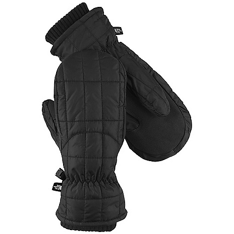 On Sale. Free Shipping. The North Face Women's Metropolis Mitt DECENT FEATURES of The North Face Women's Metropolis Mitt Women-specific 5 Dimensional Fit ensures consistent sizing Radiametric Articulation keeps hands in their natural relaxed position Weatherresistant, reinforced palm for durability Comfy knit-cuff gasket keeps warmth in and cold out The SPECS Shell: Nylon ripstop Palm: Amara Palm Insulation: 1.8 oz PrimaLoft Back-of-Hand Insulation: 6 oz Heatseeker This product can only be shipped within the United States. Please don't hate us. - $47.99