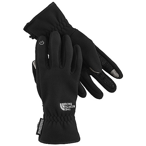 Free Shipping. The North Face Women's Etip Pamir Windstopper Glove DECENT FEATURES of The North Face Women's Etip Pamir Windstopper Glove Etip functionality with a women-specific fit works with a touch-screen device Women-specific 5 Dimensional fit Weatherresistant DWR finish keeps gloves dry Excellent warmth in windy conditions The SPECS Shell: Gore Windstopper Palm: Amara with silicone gripper pattern This product can only be shipped within the United States. Please don't hate us. - $64.95