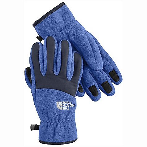 The North Face Boys' Denali Glove DECENT FEATURES of The North Face Boys' Denali Glove Youth-specific 5 Dimensional Fit ensures consistent sizing Radiametric Articulation keeps hands in their natural relaxed position Nylon Taslan over knuckles and fingers for added durability Synthetic gripper palm for added grip Elastic wrists seal out the cold The SPECS Shell: TKA 300 fleece Palm: Polyurethane (PU) gripper This product can only be shipped within the United States. Please don't hate us. - $23.95