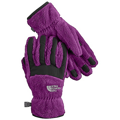 On Sale. The North Face Girls' Denali Thermal Glove DECENT FEATURES of The North Face Girls' Denali Thermal Glove Youth-specific 5 Dimensional Fit ensures consistent sizing Radiametric Articulation keeps hands in their natural relaxed position Nylon Taslan over knuckles and fingers for added durability Synthetic gripper palm for added grip Elastic wrists seal out the cold The SPECS Shell: 100% polyester high-loft fleece with nylon Taslan overlay Palm: Polyurethane (PU) gripper This product can only be shipped within the United States. Please don't hate us. - $19.99