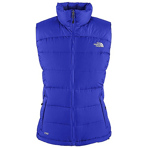 Free Shipping. The North Face Women's Nuptse 2 Vest DECENT FEATURES of The North Face Women's Nuptse 2 Vest Zip-in-compatible integration with complementing garments from The North Face Stows in hand pocket Brushed collar lining Two secure-zip hand pockets Internal chest pocket Hem cinch-cord The SPECS Average Weight: 15.87 oz / 450 g Center Back Length: 25in. Body: 50D 85 g/m2 (2.5 oz/yd2) 100% polyester faille taffeta (bluesign approved fabric) Insulation: 700 fill goose down This product can only be shipped within the United States. Please don't hate us. - $148.95