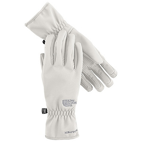 The North Face Women's TNF Apex Glove DECENT FEATURES of The North Face Women's TNF Apex Glove Women-specific 5 Dimensional Fit Radiametric Articulation Weatherproof, breathable Long-lasting DWR finish Silicone gripper palm pattern The SPECS Shell: TNF Apex Climate Block with DWR Lining: Brushed tricot Palm: Silicone gripper This product can only be shipped within the United States. Please don't hate us. - $44.95