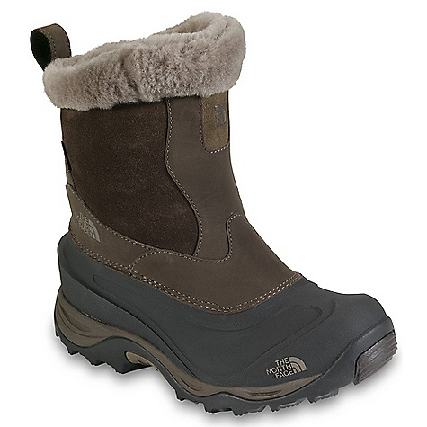 On Sale. Free Shipping. The North Face Women's Greenland Zip II Boot DECENT FEATURES of The North Face Women's Greenland Zip II Boot Upper: 2.0-2.2 mm waterproof, BLC-Silver-compliant nubuck leather upper 1.6-1.8 mm BLC-Gold-compliant waterproof fine-nap suede Synthetic shearling collar Waterproof construction for the ultimate weather protection 400 g PrimaLoft Eco insulation Locking medial zipper Northotic+ dual-density footbed with softer heel and forefoot-cushioning pads Anatomically engineered, injection-molded, waterproof TPR shell with forefoot grooves Bottom: Compression-molded EVA midsole Durable TNF Winter Grip rubber outsole IcePick temperature-sensitive outsole lugs for increased traction The SPECS Last: L/TNF-SB-01 Approx Weight: 1/2 pair: 1 lb 9 oz / 725 g, pair: 3 lbs 2 oz / 1450 g This product can only be shipped within the United States. Please don't hate us. - $88.99