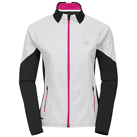 On Sale. Free Shipping. The North Face Women's Windstopper Hybrid Jacket DECENT FEATURES of The North Face Women's Windstopper Hybrid Jacket Layered venting system Stretch paneling Security hand pockets Reflective piping and logos MP3 cord hole in hand pockets Imported The SPECS Average Weight: 13.1 oz Center Back Length: 25in. Body: 201 g/m2 Gore Windstopper-100% polyester membrane with DWR Panel: 265 g/m2 93% polyester, 7% elastane This product can only be shipped within the United States. Please don't hate us. - $110.99