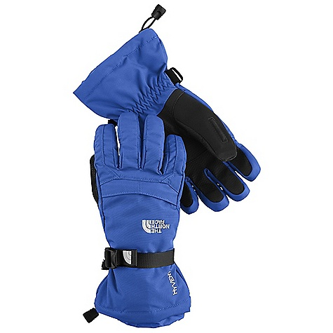 On Sale. Free Shipping. The North Face Boys' Montana Glove DECENT FEATURES of The North Face Boys' Montana Glove New design provides a modern look and feel Youth-specific 5 Dimensional Fit ensures consistent sizing Radiametric Articulation keeps hands in their natural relaxed position Waterproof, warm and breathable Full-coverage gauntlet keeps snow out Synthetic gripper palm for added grip The SPECS Shell: Nylon oxford Lining: 100% polyester Palm: Synthetic leather Palm Insulation: 100 g Heatseeker Back-of-Hand Insulation: 100 g Heatseeker Insert: HyVent This product can only be shipped within the United States. Please don't hate us. - $28.99
