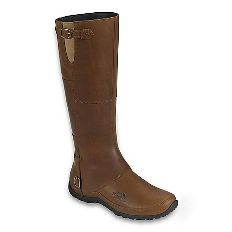 On Sale. Free Shipping. The North Face Women's Camryn Boot DECENT FEATURES of The North Face Women's Camryn Boot Upper: Waterproof, BLC-compliant full-grain leather upper Waterproof construction Medial gore panel at upper shaft fits variable leg shape Medial zip for easy on/off Compression-molded eco OrthoLite Northotic foot bed Bottom: Durable rubber outsole The SPECS Last: L\TNF-S11-01 Approx Weight: 1/2 pair: 14 oz / 401 g, pair: 1 lb 12 oz / 802 g Shaft Height: 14in. / 35.5 cm Circumference: 14.5in. / 37 cm This product can only be shipped within the United States. Please don't hate us. - $143.99