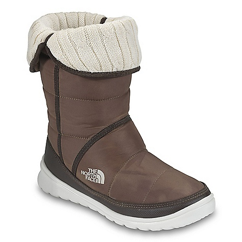 Skateboard On Sale. Free Shipping. The North Face Women's Amore Boot DECENT FEATURES of The North Face Women's Amore Boot Upper: Durable, water-resistant, element-shedding textile upper 200 g Heat seeker insulation Adjustable, fleece lined, fold-down collar Internal, ankle-securing elastic Comfortable eco OrthoLite foot bed Bottom: Cushioned, abrasion-resistant, injection molded EVA midsole/outsole Ice Pick temperature-sensitive rubber pods for increased traction Imported The SPECS Last: L\TNF-F11-07 Approx Weight: 1/2 pair: 7.9 oz / 224 g, pair: 1 lb / 448 g Shaft Height: 9in. / 23 cm Circumference: 14in. / 35.5 cm This product can only be shipped within the United States. Please don't hate us. - $55.99