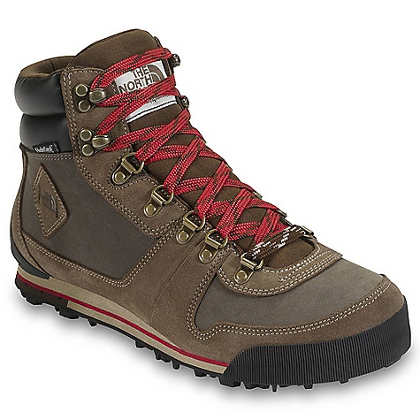 On Sale. Free Shipping. The North Face Men's Back-To-Berkeley 68 Boot DECENT FEATURES of The North Face Men's Back-To-Berkeley 68 Boot Upper: Combination BLC-compliant, waterproof nubuck and suede upper 100 g PrimaLoft Eco insulation HydroSeal waterproof membrane Gusseted tongue Durable metal lace hardware OrthoLite sockliner Bottom: Die-cut EVA midsole Durable TNF Winter Grip rubber outsole with IcePick temperature-sensitive lugs The SPECS Last: TNF-F0903 Approx Weight: 1/2 pair: 1 lb 2 oz / 505 g, pair: 2 lbs 4 oz / 1010 g This product can only be shipped within the United States. Please don't hate us. - $109.99
