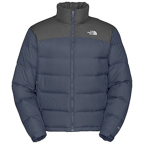 Free Shipping. The North Face Men's Nuptse 2 Jacket DECENT FEATURES of The North Face Men's Nuptse 2 Jacket Zip-in-compatible integration with complementing garments from The North Face Double-layer taffeta on shoulders Stows in hand pocket Two secure-zip hand pockets Elastic cuff Hem cinch-cord The SPECS Average Weight: 22.89 oz / 649 g Center Back Length: 27in. Body: 50D 64 g/m2 (1.9 oz/yd2) mini-ripstop weave nylon Abrasion: 50D 64 g/m2 (1.9 oz/yd2) plain weave nylon with DWR Insulation: 700 fill goose down This product can only be shipped within the United States. Please don't hate us. - $219.95