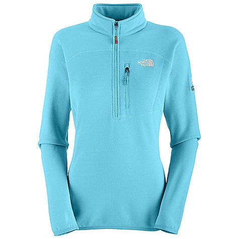 On Sale. Free Shipping. The North Face Women's Flux Power Stretch 1-4 Zip DECENT FEATURES of The North Face Women's Flux Power Stretch 1/4 Zip Alpine fit Soft and breathable Polartec Power Stretch fabric Napoleon chest pocket Elastic binding at cuff and hem The SPECS Average Weight: 10.83 oz / 307 g Center Back Length: 25in. 241 g/m2 (7.1 oz/yd2) Polartec Power Stretch-53% polyester 38% nylon 9% elastane smooth-face jersey This product can only be shipped within the United States. Please don't hate us. - $95.99