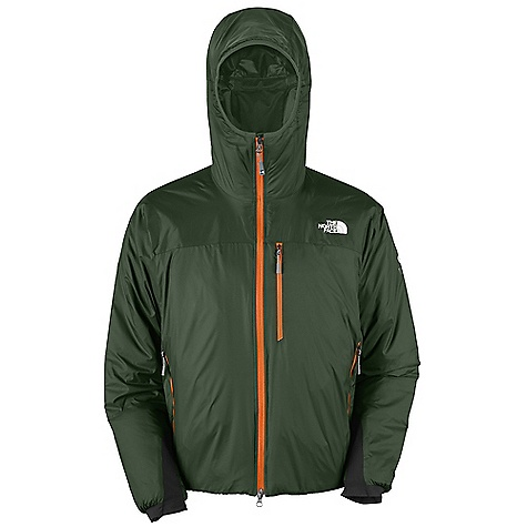 Free Shipping. The North Face Men's Redpoint Optimus Jacket DECENT FEATURES of The North Face Men's Redpoint Optimus Jacket Alpine fit Peripheral hood adjustment Seamless shoulders Light polyurethane (PU) kiss coat for water resistance Napoleon chest pocket Jacket stows in internal zip chest pocket Two hand pockets Soft shell cuff Hideaway hem cinch-cord The SPECS Average Weight: 26.10 oz / 740 g Center Back Length: 28in. Body: 30D 54 g/m2 (1.59 oz/yd2) 100% nylon with DWR Insulation: 100 g PrimaLoft One This product can only be shipped within the United States. Please don't hate us. - $199.00