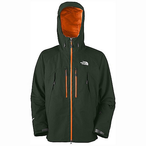 On Sale. Free Shipping. The North Face Men's Mountain Guide Jacket DECENT FEATURES of The North Face Men's Mountain Guide Jacket Performance fit Imported Waterproof, breathable, seam sealed Fully adjustable, helmet-compatible hood with laminated wire brim Tricot-lined collar for comfort Polyurethane (PU) zips on chest pocket and pit-zips Two Napoleon pockets Two alpine pockets with reverse-coil zips and windflaps Pit-zips Internal stretch water-bottle pocket Internal security zip pocket Elastic wind skirt Nonabrasive molded cuff tabs Hem cinch-cord The SPECS Average Weight: 29.98 oz / 850 g Center Back Length: 30in. Body: 75D 115 g/m2 (3.2 oz/yd2) Gore-Tex Performance Shell 2L-100% polyester plain weave Abrasion: 75D 142 g/m2 (4.2 oz/yd2) Gore-Tex Performance Shell 2L-100% polyester plain weave This product can only be shipped within the United States. Please don't hate us. - $258.99